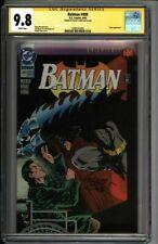 * BATMAN #499 CGC 9.8 SS Kelley Jones Knightfall Part 17 BANE! (1600141005) *