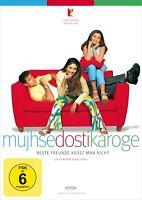Mujhse dosti karoge - Beste Freunde küsst man nicht, Bollywood DVD NEU + OVP!
