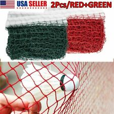 2 Packs Badminton Tennis Volleyball Net For Beach Garden Indoor Outdoor Games US