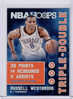 2015-16 HOOPS TRIPLE-DOUBLE NBA BASKETBALL CARD PICK SINGLE CARD YOUR CHOICE