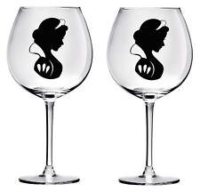 9 Pegatinas Calcomanías de vidrio de vino blanco de nieve fiestas de boda Hágalo usted mismo Botella Tarros De Pared