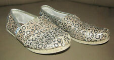 Toms Youth Classic Sparkle Glitter Gold Flats Slip-on Shoes Size Y2.5 Y 2.5