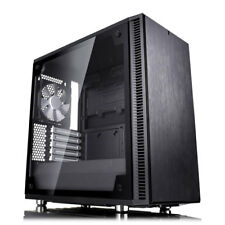 Fractal Design Define Mini C TG, MicroATX Computer Chassis, with Tempered Glass