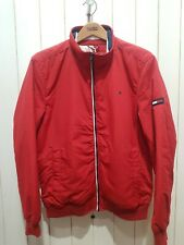 TOMMY HILFIGER Zip Jacket RED Size M