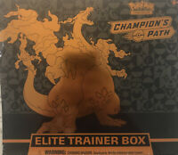 Pokemon Champions Path Elite Trainer Box TCG Factory Sealed 10 Booster Packs
