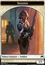 Soldier TOKEN Card x4  EX/NM Magic Origins MTG White TOKEN Card