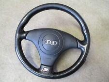 3 radios de volante deportivo s-line audi a4 b5 a6 4b volante de cuero volante 4b0419091e