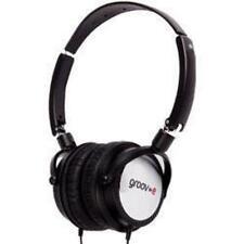 Groov-e DJ980 Lightweight DJ Style Swivel Over Ear Folding Monitor Headphones