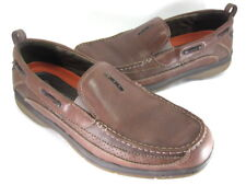 CLARKS MEN'S 70871 UN. PACIFIC BOAT SHOES BROWN SIZE 11.5 Pre-Owned