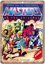 """He-Man Masters of The Universe Comic Cover 10"""" x 7"""" Reproduction Metal Sign J03"""