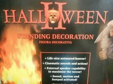 More details for halloween ii - michael myers 6.6ft animated prop life size with sound new