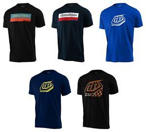 TROY LEE DESIGNS Men's Cotton T-Shirts Motorsports Motorcycle/Motocross/Karts