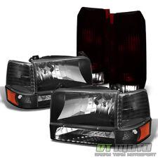 1992-1996 Ford F150 F250 F350 Bronco Headlights Corner Signal Lamps+Tail Lights
