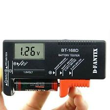 D-FantiX Digital Battery Tester for Aaa Aa C D 9V 1.5V, Household Battery