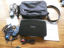 Meos Portable DVD Player DVD112B with accessories and carry case  TV & Game Play