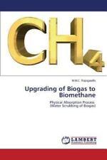 Upgrading of Biogas to Biomethane by Rajivgandhi M M C (2015, Paperback)