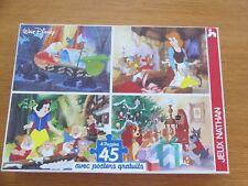 NATHAN * 4 PUZZLE DISNEY+poster Blanche-Neige Cendrillon Belle * 45 pièces 5 ans