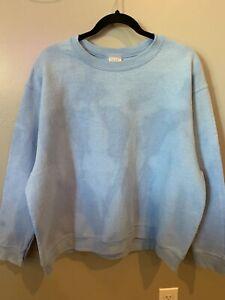 Sweatshirt Bleach Tie Dye , Reverse Dye Bleaching Size XLarge