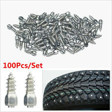100Pcs Screw in Tire Stud Snow Spikes Racing Track Tire Ice Studs Snowmobile ATV