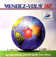 CD MAXI JEAN MICHEL JARRE RENDEZ-VOUS 98 CARDBOARD SLEEVE COLLECTOR RARE 1998