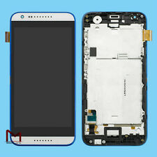 For HTC Desire 620 620G LCD Display Touch Screen Digitizer White Frame Assembly