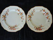 Vintage! 2 Pc Of Dessert Plates, Alfred Meakin MARIGOLD Astoria Shape Delici