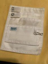White Nurse Pocket Organizer