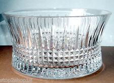 "Waterford LISMORE DIAMOND Crystal Bowl 10"" 156507 New In Box"