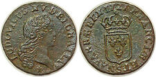 LOUIS XV LIARD AU BUSTE ENFANTIN 1721 S REIMS G.270