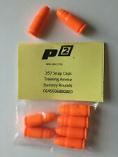 P2 .357 Sig Cal Snap Caps Train Ammo Bullets Shells Practice Safe .357 - 6 Pak