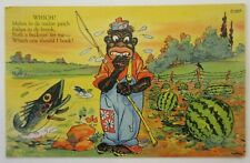 New ListingVintage Black Americana Post Card