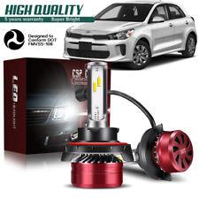 H13 9008 LED Headlight Bulb 60W 12000LM Kit High Low Beam Upgrade 6000K DWG