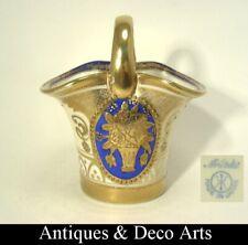 Noritake Art Deco Basket with Gold Flower Decoration