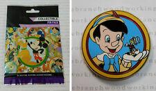 2012 Disney Theme Parks PINOCCHIO & JIMINY CRICKET Best Friends Mystery Pack Pin