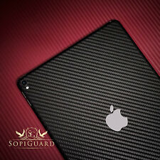 SopiGuard 3M Avery Carbon Fiber Skin Back Side for Apple iPad Pro 10.5 A1701
