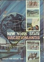 Vintage Travel Brochure New York State Vacationlands World's Fair Edition 1964