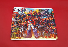 Transformers Autobot Inspired 80's Vintage Mouse Mat Pad PC & Laptop Gaming