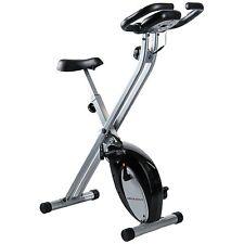 Cyclette da casa per allenamento Bici da Fitness Pieghevole con Cardio