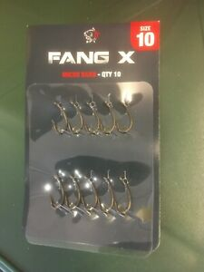 Nash Fang X Size 10 Micro Barb Pack of 10