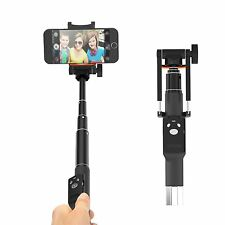 "NEW Fugetek 32"" Pocket Selfie Stick, Wireless Bluetooth Shutter, iPhone/Samsung"