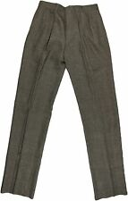 POLO RALPH LAUREN MEN'S BROWN PATTERN PANTS-SIZE 32-ITALY