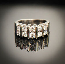 Beautiful 14K Diamond Ring / Size 5 / G-H SI-2 TCW 1 With Appraisal