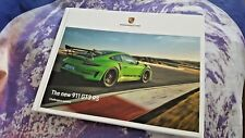 Porsche 911 GT3 RS (991.2) 02/2018 116 pg Hardback A4 Brochure