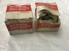 Thomson SFB12 SFB-12 Ball Bushing Linear Pillow Block Flanged Bearing Lot Of 2