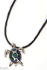 NEW Turtle Color Change Heat Thermo Mood Pendant Necklace