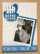 Unter falschem Verdacht (Werberatschlag '49) - Louis Jouvet / H.-G. Clouzot