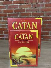 Catan Base Board Game + 5-6 Player Extension Pack Bundle * NEW Sealed 2020