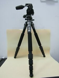 Giottos MT 7360 Lava Tripod With Manfrotto 804RC2 Tilt Head