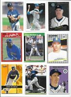 Seattle Mariners 1995 Lot of (52) Different Griffey Buhner Randy Edgar Dan Joey