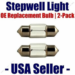 Stepwell Bulb 2pk OE Replacement Fits - Listed Mercedes-Benz  Vehicles - 6418